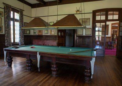 Instalaciones - Billiards Room